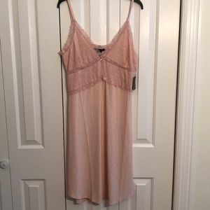 NWT Nanette Lepore size XL pink nightgown